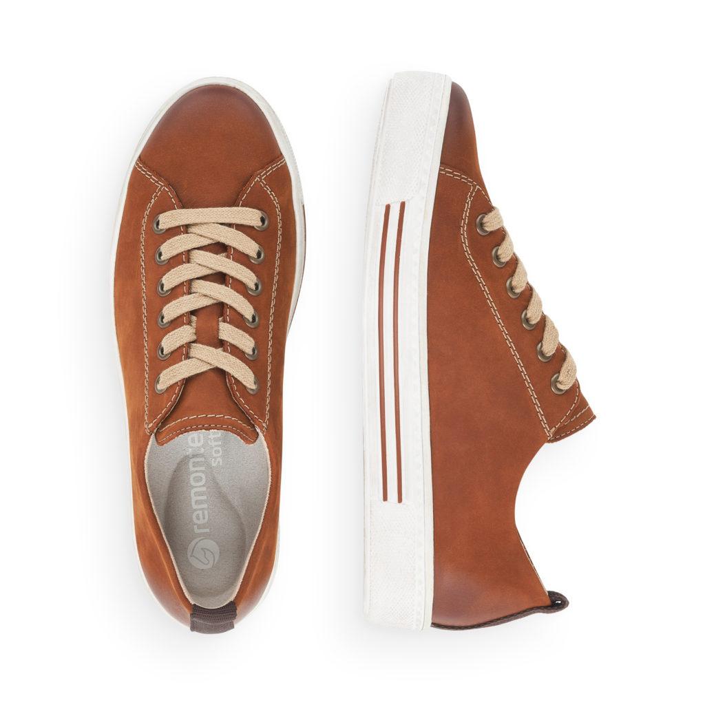 Remonte Sneaker D0900-38 in Earth Tones