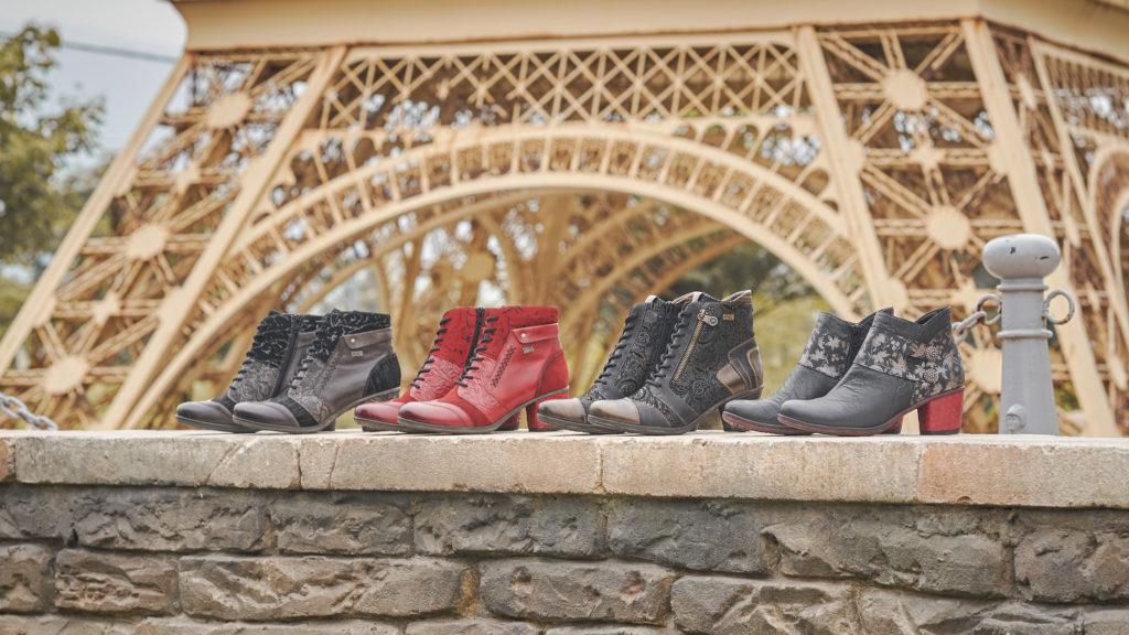 Remonte Stiefeletten D5470-45, D5470-35, D8794-02 und D5472-01 mit Fancy Heels