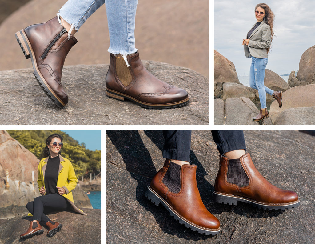 Remonte Chelsea Boots R2292-25 und D8470-22 in Earth Tones