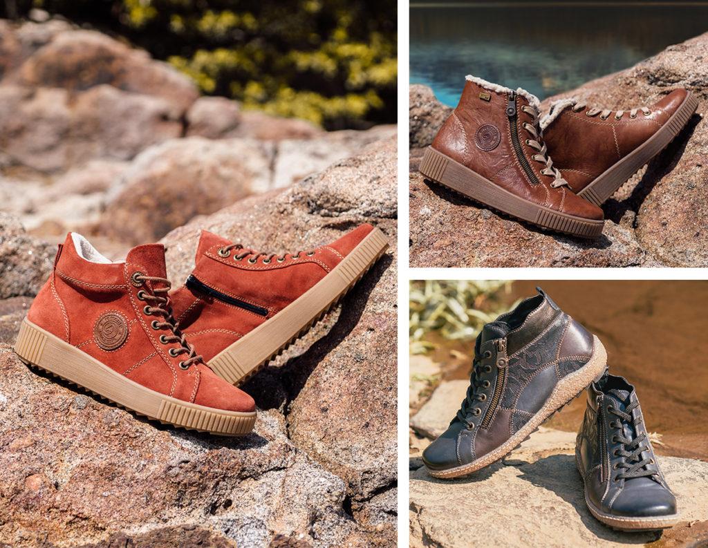 Remonte Stiefel R7992-38 und R4790-14, Remonte Schneestiefel R7980-22