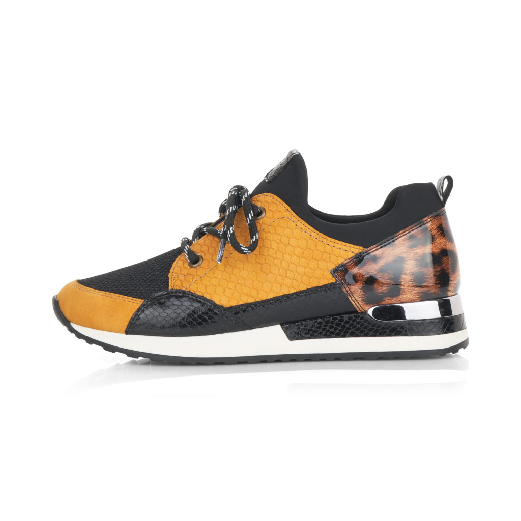 Remonte Sneaker R2503-68 in Yellow