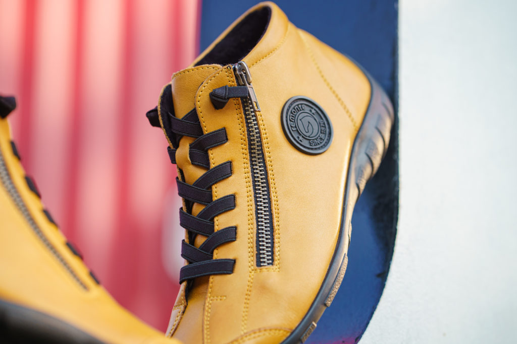 Remonte Stiefelette R3491-68 in Yellow