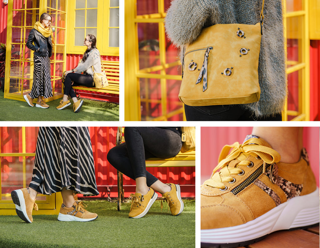 Remonte Sneaker D6601-68 und D1302-68, Remonte Handtasche Q0438-68