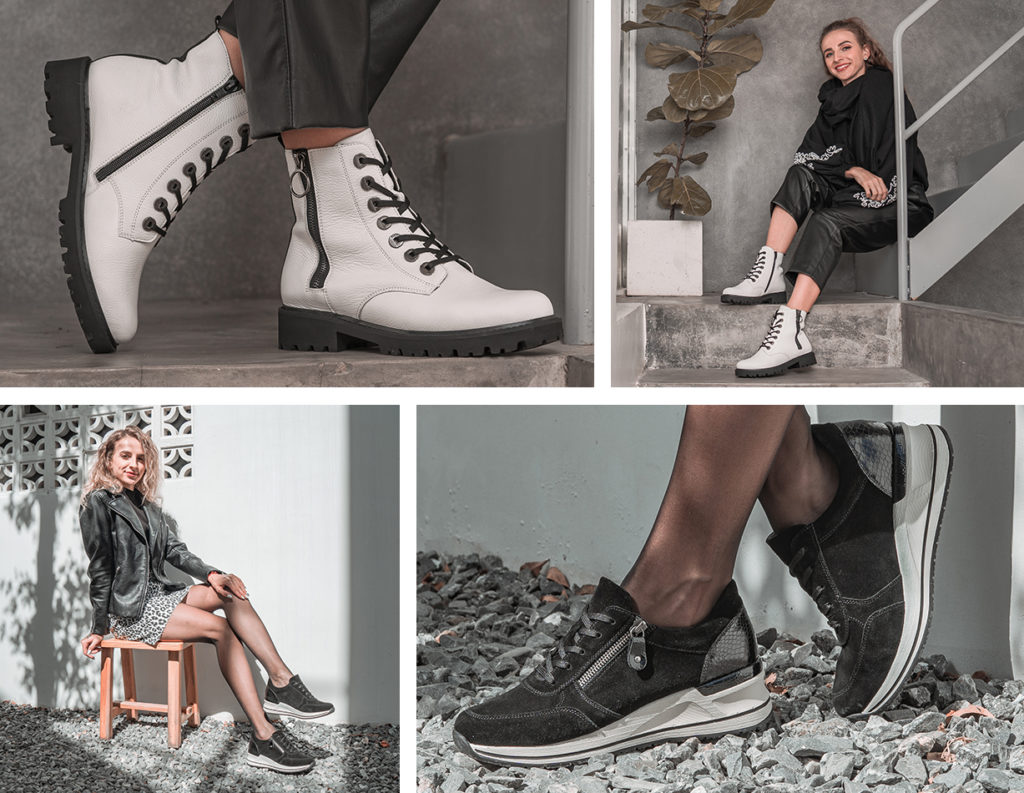 Remonte Stiefel D8671-80, Remonte Sneaker D3204-03