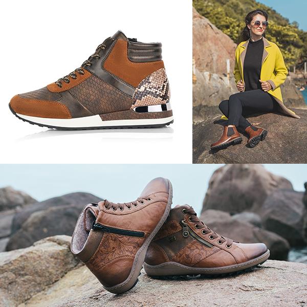 Remonte Stiefel R2573-23 und R1497-22, Remonte Chelsea Boots D8470-22