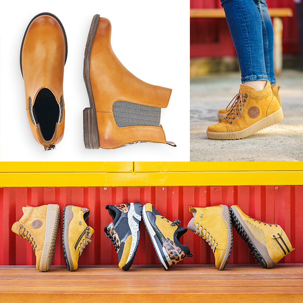 Remonte Chelsea Boots R0984-68, Remonte Stiefel R7992-68, R4789-68 und R1499-68, Remonte Sneaker D1402-68, D4107-03 und R2503-68