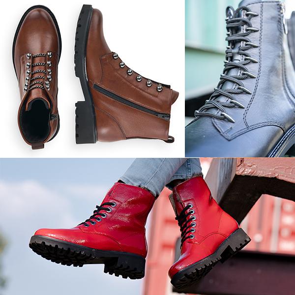 Remonte Stiefel D8670-22, R6583-01 und D8786-35